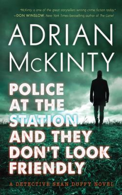 Police at the station and they don't look friendly Book cover